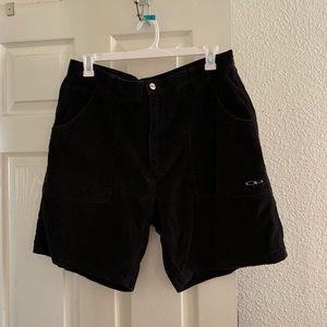 OP Black Courderoy Shorts